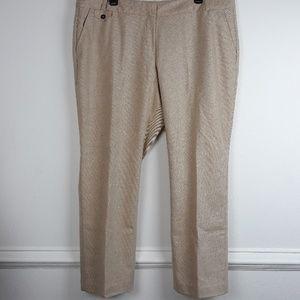 TALBOTS PLUS SIZE WOOL BLEND DRESS PANTS